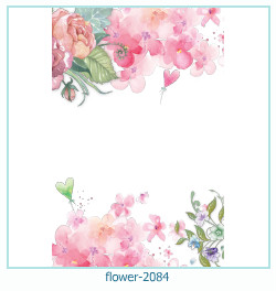 flower Photo frame 2084