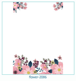 flower Photo frame 2086