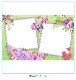 fleur Cadre photo 2112