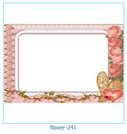 flower Photo frame 241
