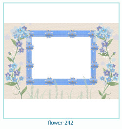 flower Photo frame 242