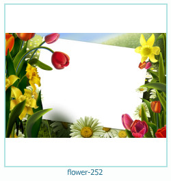 flower Photo frame 252