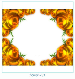 flower Photo frame 253