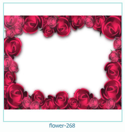 flower Photo frame 268