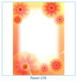 Marco de la foto de la flor 278