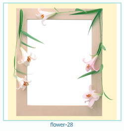 flower Photo frame 28