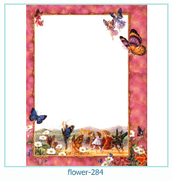 flower Photo frame 284