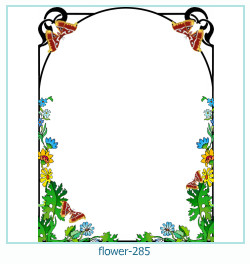 flower Photo frame 285