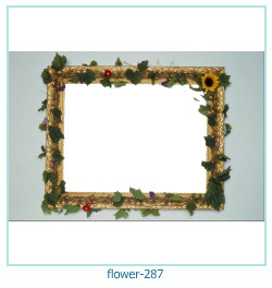 flower Photo frame 287
