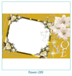 flower Photo frame 289