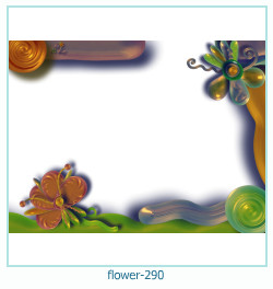 flower Photo frame 290