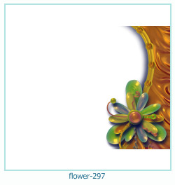 flower Photo frame 297