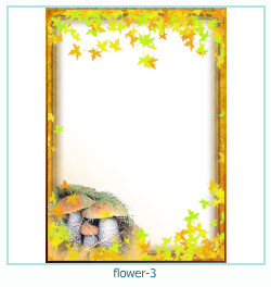 flower year year Photo frame 3