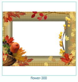 flower Photo frame 300