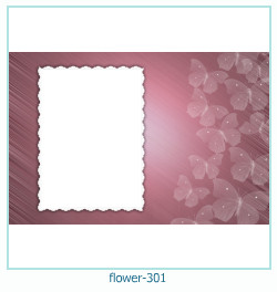 flower Photo frame 301