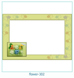 flower Photo frame 302