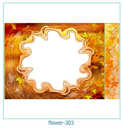 flower Photo frame 303