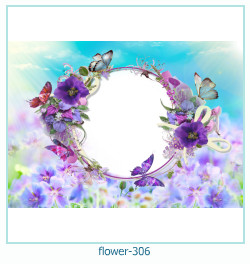 flower Photo frame 306