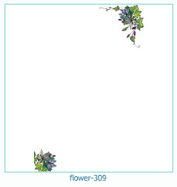 flower Photo frame 309