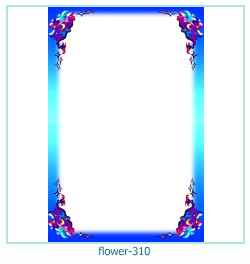 flower Photo frame 310