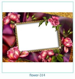 flower Photo frame 314