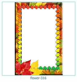 flower Photo frame 316