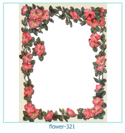 flower Photo frame 321