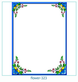 flower Photo frame 323