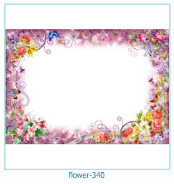 flower Photo frame 340