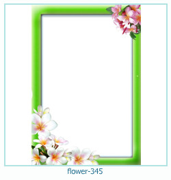flower Photo frame 345