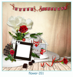 flower Photo frame 351
