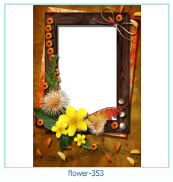 flower Photo frame 353