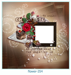 flower Photo frame 354