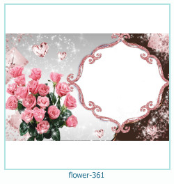 flower Photo frame 361