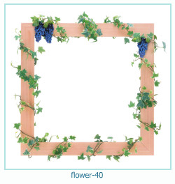 flower Photo frame 40