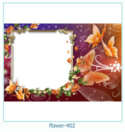 Marco de la foto de la flor 402