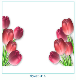 flower Photo frame 414