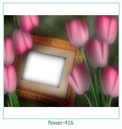 flower Photo frame 416