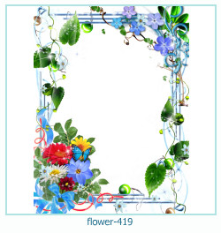 flower Photo frame 419