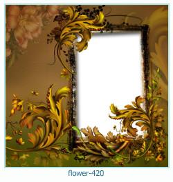 फूल फोटो फ्रेम 420