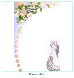 flower Photo frame 447