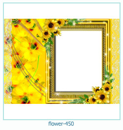 फूल फोटो फ्रेम 450