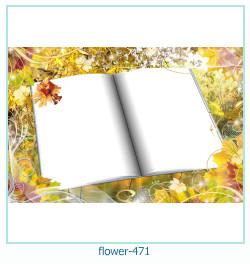 Marco de la foto de la flor 471