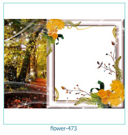Marco de la foto de la flor 473