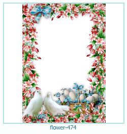 Marco de la foto de la flor 474