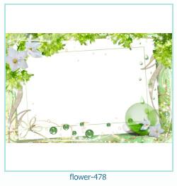 Marco de la foto de la flor 478