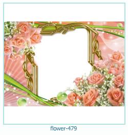 Marco de la foto de la flor 479