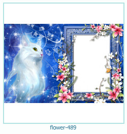 flower Photo frame 489