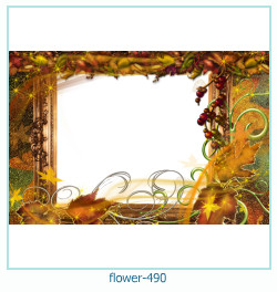 flower Photo frame 490