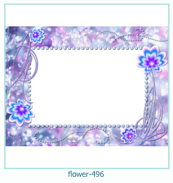 flower Photo frame 496